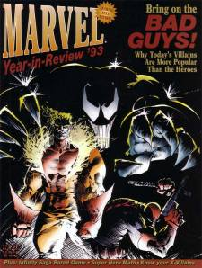 Marvel Year in Review 5 1993