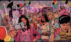 New Mutants Vol 3 50 Kitty Party