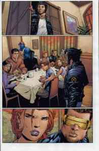 Ultimate X-Men 38 Kitty table