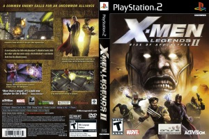 X-Men Legends 2 Rise Of Apocalypse COVER
