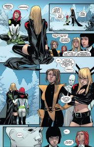 All New X-Men 30 Kitty Magik jokes