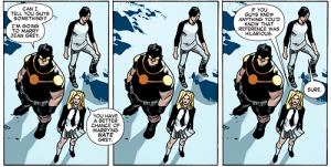 All New X-Men 31 Celeste awesome joke