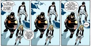 All New X-Men 31 Celeste awesome joke
