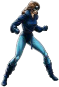 Avengers Alliance Blue Kitty in game