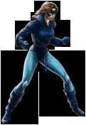 Avengers Alliance Blue Kitty in game