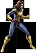 Avengers Alliance Kitty in game