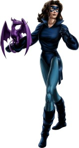 Avengers Alliance Kitty Lockheed blue costume