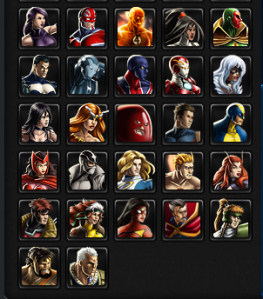 Avengers Alliance Roster 2