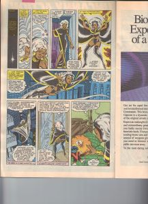 X-Men Classic 49 Illyana Mention