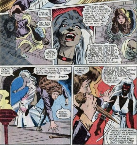 X-Men Classic 63 Kitty snooping