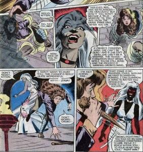 X-Men Classic 63 Kitty snooping