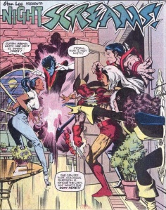 X-Men Classic 63 Kitty splash page