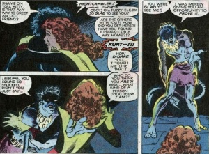X-Men Classic 64 Kitty Bad Touch