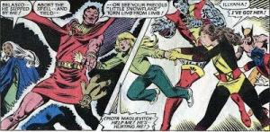 X-Men Classic 64 Magik 7 Year Gap