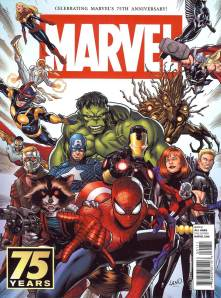 Marvel 75th Anniversary Magazine