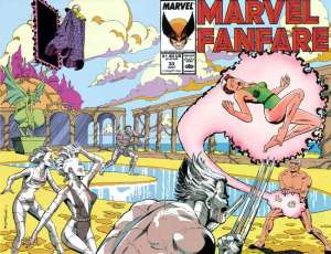 Marvel Fanfare 33