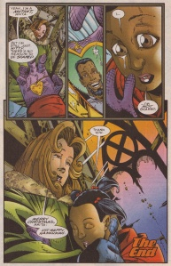 Marvel Holiday Special 1996 Kitty 9