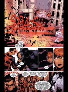 Uncanny X-Men V3 25 Kitty Scott optic blasts Iceman