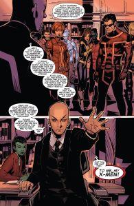 Uncanny X-Men V3 25 Kitty Xavier stops talking