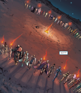 X-Men Regenesis Caveman Sides