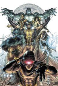 Astonishing X-Men Sketchbook Kitty Finished