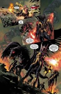 Dark Avengers Uncanny X-Men Exodus New Mutants v Ares minus Magik
