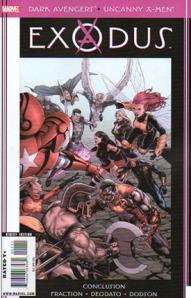 Dark Avengers Uncanny X-Men Exodus