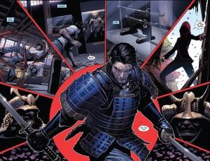 Death of Wolverine 3 Kitty Ogun Fight 2