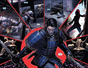Death of Wolverine 3 Kitty Ogun Fight 2