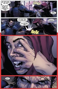 Death of Wolverine 3 Kitty Ogun Fight 4