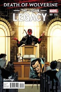 Death of Wolverine Logan Legacy 1 Hastings Variant