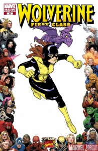Marvel 70th Wolverine First Class Kitty Pryde Lockheed