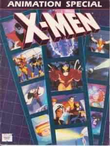 X-Men Animation Special Front