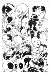 X-Men Kissing Cover