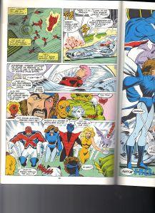 X-Men Spotlight Starjammers 2 Lockheed 1