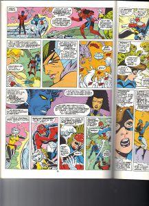 X-Men Spotlight Starjammers 2 Lockheed 3