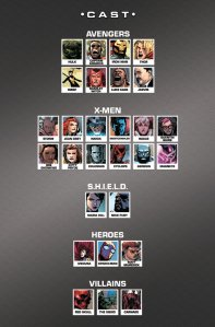 AXIS 4 Cast List