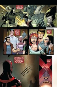 Death of Wolverine- Life After Logan Cyclops Kitty 1