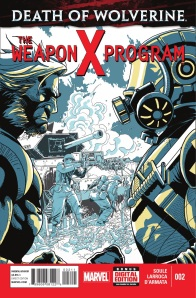 Death of Wolverine Weapon X Program 2