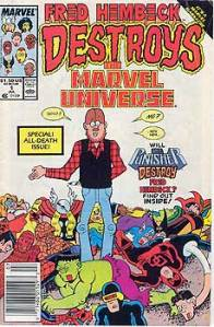 Fred Hembeck Destorys the Marvel Universe