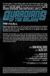 Guardians of the Galaxy V3 21 Credit Page