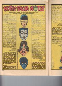 Marvel Age 12 Kitty Letters Page