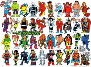 Marvel Age 93 Hembeck Lil Avengers