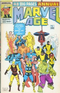 Marvel Age Annual 2 1963 Cover