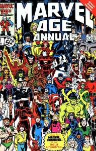 Marvel Age Annual 2 1986 Cover