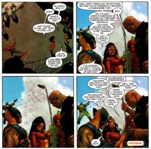 New Avengers V1 8 Spider-Woman funny