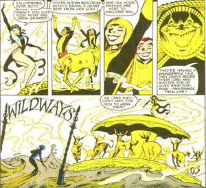 New Mutants Annual 2 Magik crazy horse face