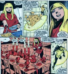 New Mutants Annual 2 Magik tableset