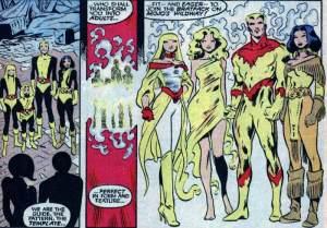 New Mutants Annual 2 Magik transformed