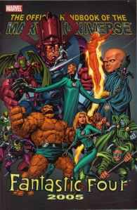 Official Handbook of the Marvel Universe - Fantastic Four 2005